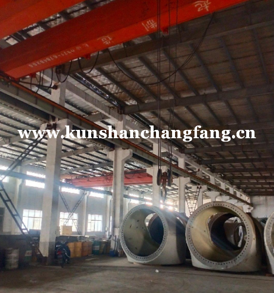 昆山特高23米厂房出租 可挂行车130吨特种厂房