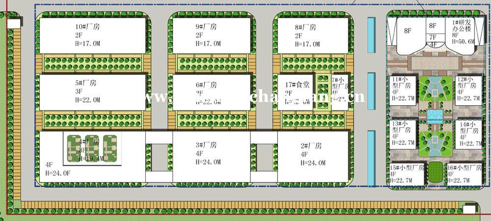 昆山智能制造产业园招商 总建筑面积6万平米
